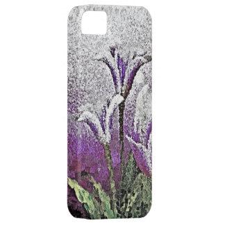 Purple Tulips - Painting Art iPhone SE/5/5s Case