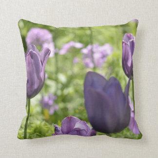 Purple Tulips Pillows