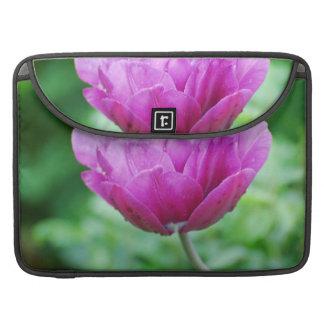 Purple Tulips Sleeve For MacBook Pro