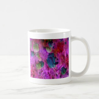 Purple tulips with Brush effect Coffee Mug