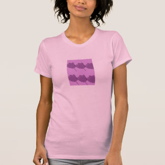 Purple Tulips Women Tees