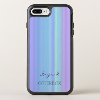 Purple Turquoise Blue Green OtterBox Symmetry iPhone 7 Plus Case