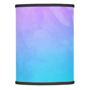 Lamp shades zazzle purple turquoise mermaid watercolor ombre paint lamp shade aloadofball Choice Image