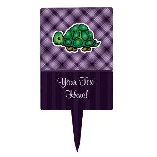 Purple Turtle Cake Topper