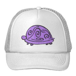 Purple Turtle Trucker Hats