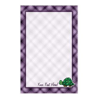 Purple Turtle Stationery