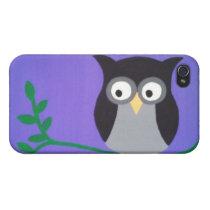 Purple Twilight Owl Case