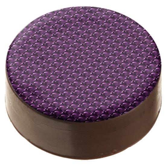 Purple Twirl Lights - Tiles Chocolate Covered Oreo