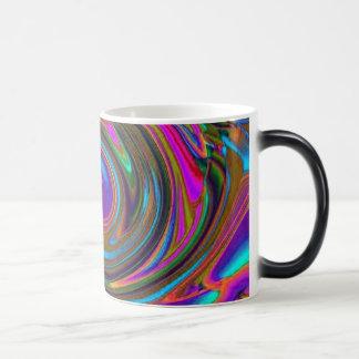 Purple Twirl morphing mug