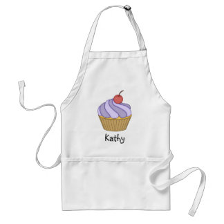 Purple Two Tone Cupcake Apron