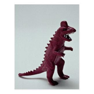 Purple Tyrannosaurus Rex Postcard