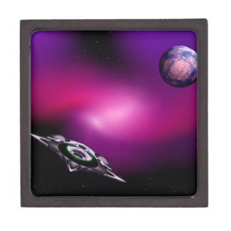 Purple UFO Gift Box: Gift Box