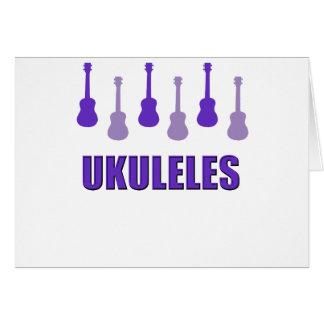 Purple Ukuleles Card