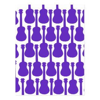 Purple Ukuleles Postcard