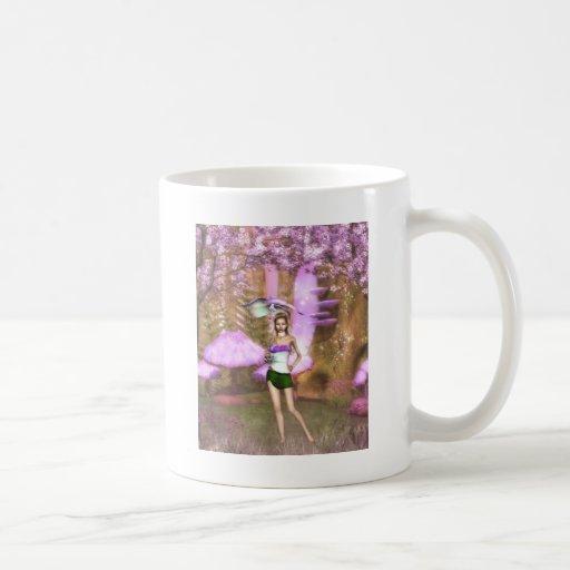 Purple Umbrella Coffee Mug