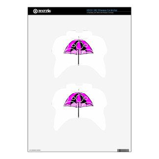 Purple umbrella xbox 360 controller skin