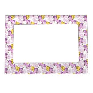 Purple Unicorn Graphic Magnetic Frame