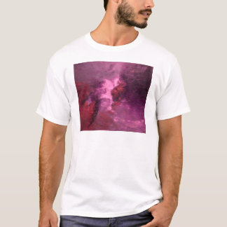 """PURPLE UNIVERSE ABSTRACT"" T-Shirt"