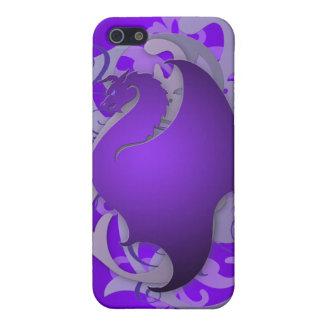 Purple Urban Fantasy Dragon 4g I Cover For iPhone SE/5/5s