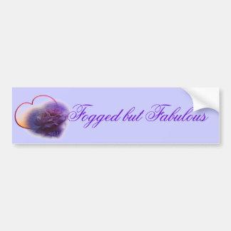 Purple Valentine Fibro Awareness Bumper Stickers