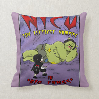 Purple Vampire Cushion