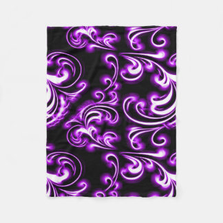 Purple Vampire Void Fleece Blanket
