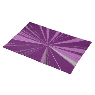 Purple Vanishing Point Placemat