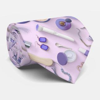 Purple Vanity Table Tie