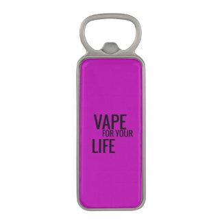 Purple Vape For Life Magnetic Bottle Opener