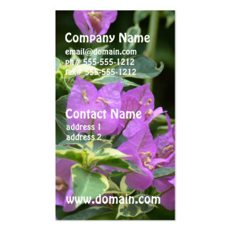 Purple Variegated Crepe and Myrtle Double-Sided Standard Business Cards (Pack Of 100)