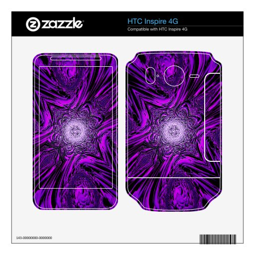 purple vector a HTC inspire 4G skins