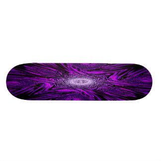 purple vector a skateboard deck
