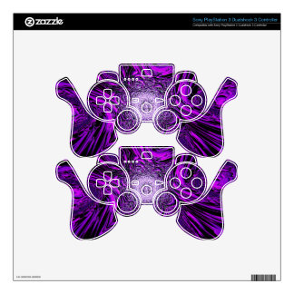 purple vector skin for PS3 controller