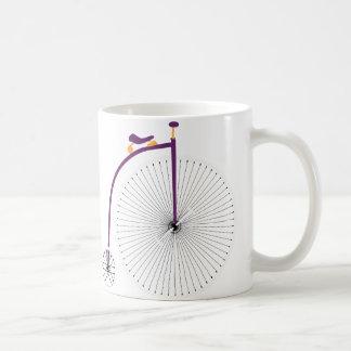 Purple Velocipede Coffee Mug