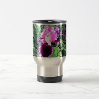 Purple Velvet Iris Travel Mug