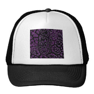 Purple Velvet-look Trucker Hat