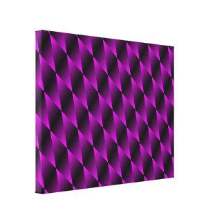 Purple Velvet Psychedelic Art Canvas Canvas Prints