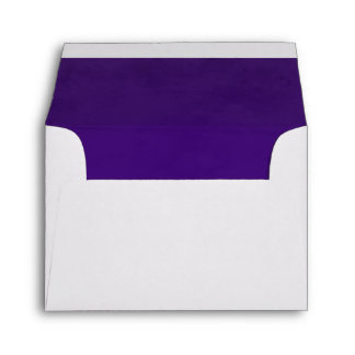 Purple Velvet Texture A2 Envelope