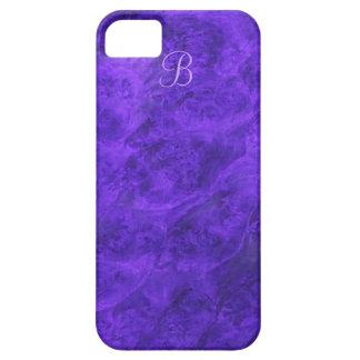 Purple Velvet Walnut iPhone case *monogrammed* iPhone 5 Covers