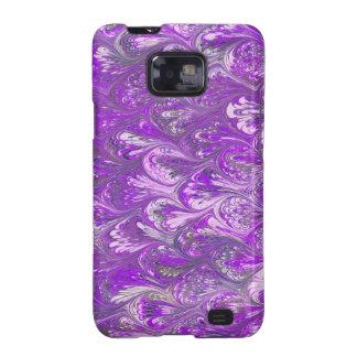 Purple venetian paper galaxy s2 covers