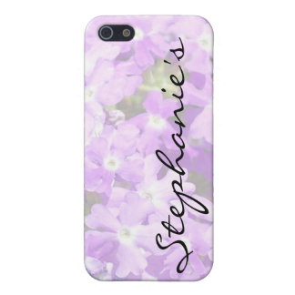 Purple Verbena Cover For iPhone 5/5S