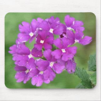 Purple Verbena Mouse Pads
