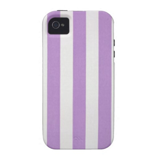 Purple verticle stripes wallpaper, 1900-1915 iPhone 4 cover