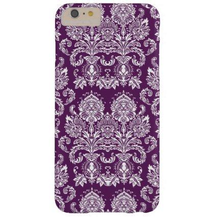 Purple Victorian Damask iPhone 6 Plus Case