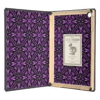 Purple Victorian Pattern Cover For iPad Air