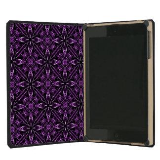 Purple Victorian Pattern iPad Mini Covers