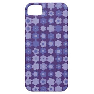 purple vintage flowers iPhone 5 covers