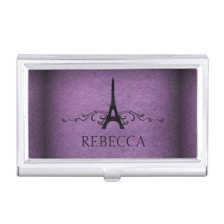 Purple Vintage French Flourish
