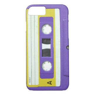 Purple Vintage Retro Audio Cassette iPhone 8/7 Case