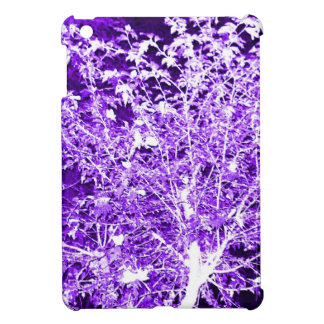 Purple Violet Abstract Tree Branches iPad Mini Covers